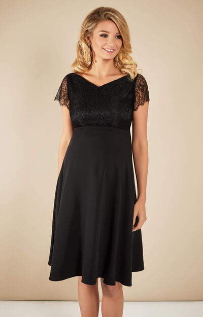 Eleanor Dress (Black) by Tiffany Rose