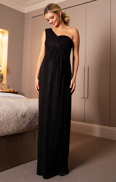 Galaxy Maternity Gown Long Night Sky