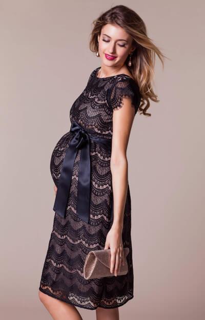 Harriet Maternity Dress Short Blackdusk Maternity Wedding Dresses