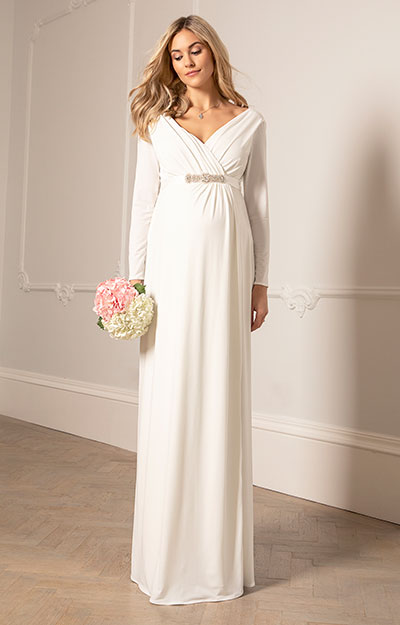 Isabella Maternity Wedding Gown by Tiffany Rose