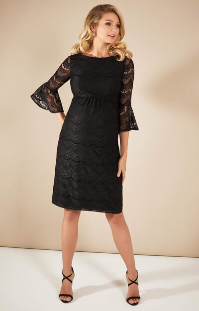 Jane Lace Dress Black