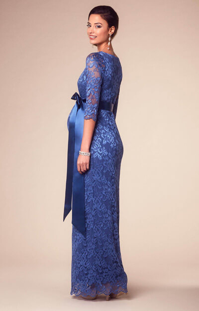 ... Katie Maternity Gown Long Windsor Blue by Tiffany Rose ... 6b2238c22aad7