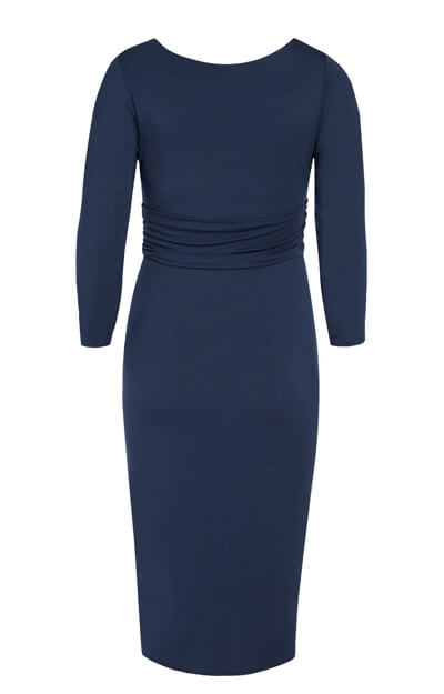 Lara Maternity Dress Bijou Blue