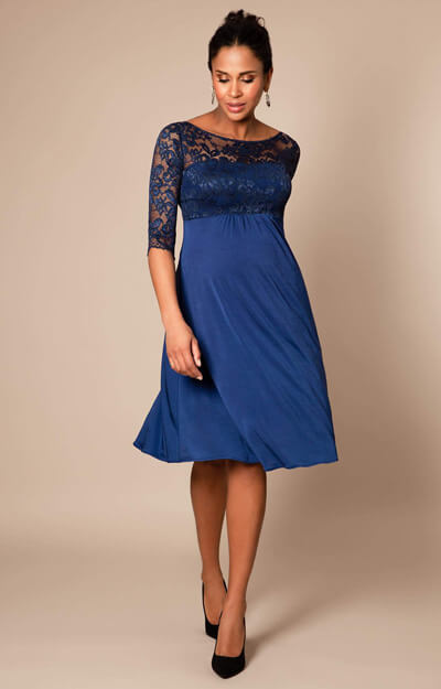 Lucia Maternity Dress short Imperial Blue
