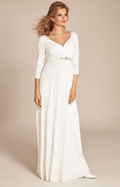 Lexi Maternity Wedding Gown Ivory