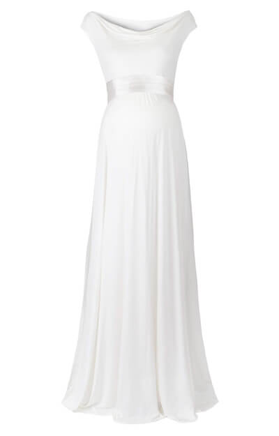 Liberty Maternity Wedding Gown (Ivory)
