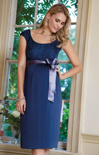 Rosabelle Maternity Dress Sapphire by Tiffany Rose
