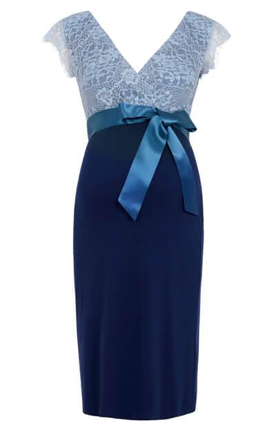 9d296ad6c8955 Rosa Maternity Dress Infinity Blue - Maternity Wedding Dresses ...