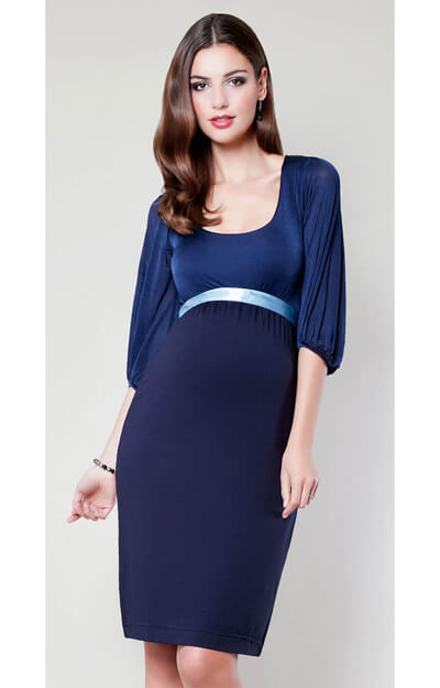 Sienna Maternity Dress (Midnight Blue)
