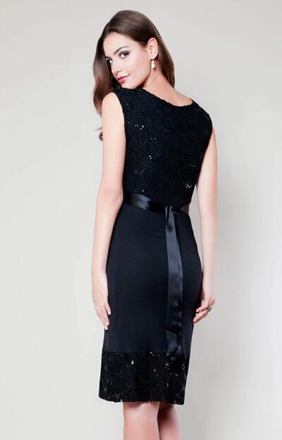 Twilight Lace Maternity Dress (Black) - Maternity Wedding Dresses ...