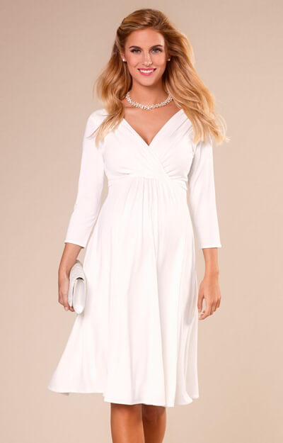 Willow Maternity Wedding Dress Ivory by Tiffany Rose