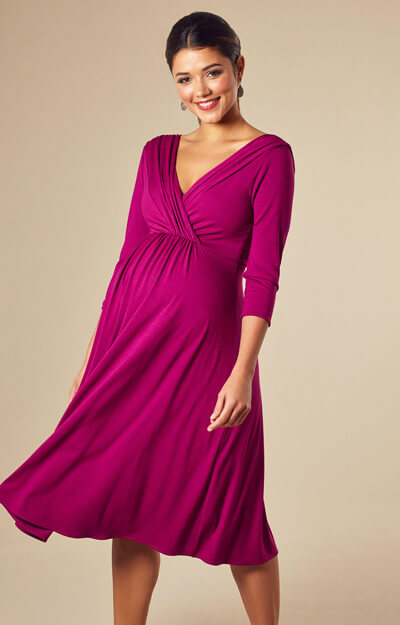 394d91bf45de Willow Maternity Dress Short Pink - Maternity Wedding Dresses ...