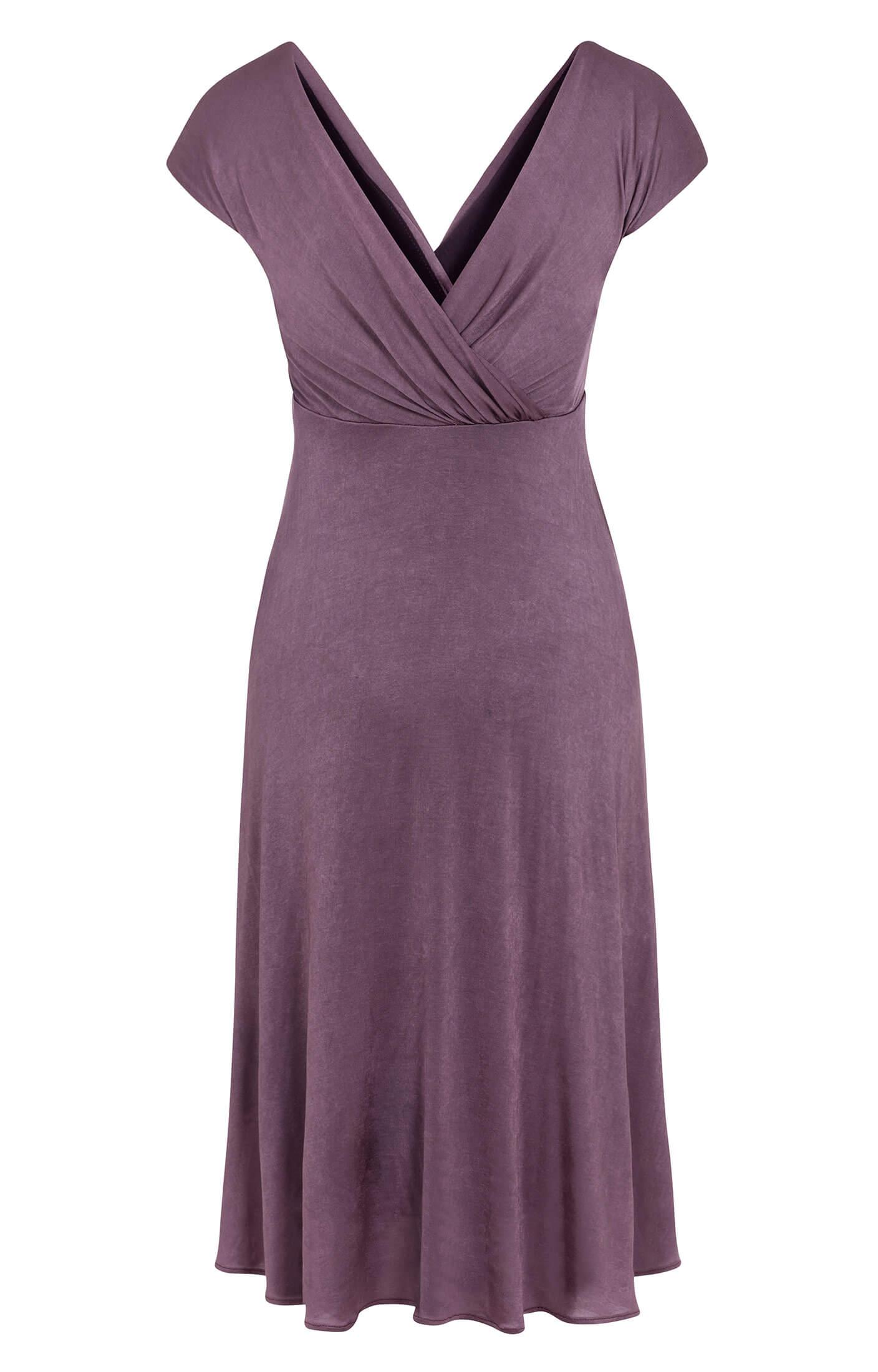 Alessandra Maternity Dress Short Heather - Maternity Wedding Dresses ...