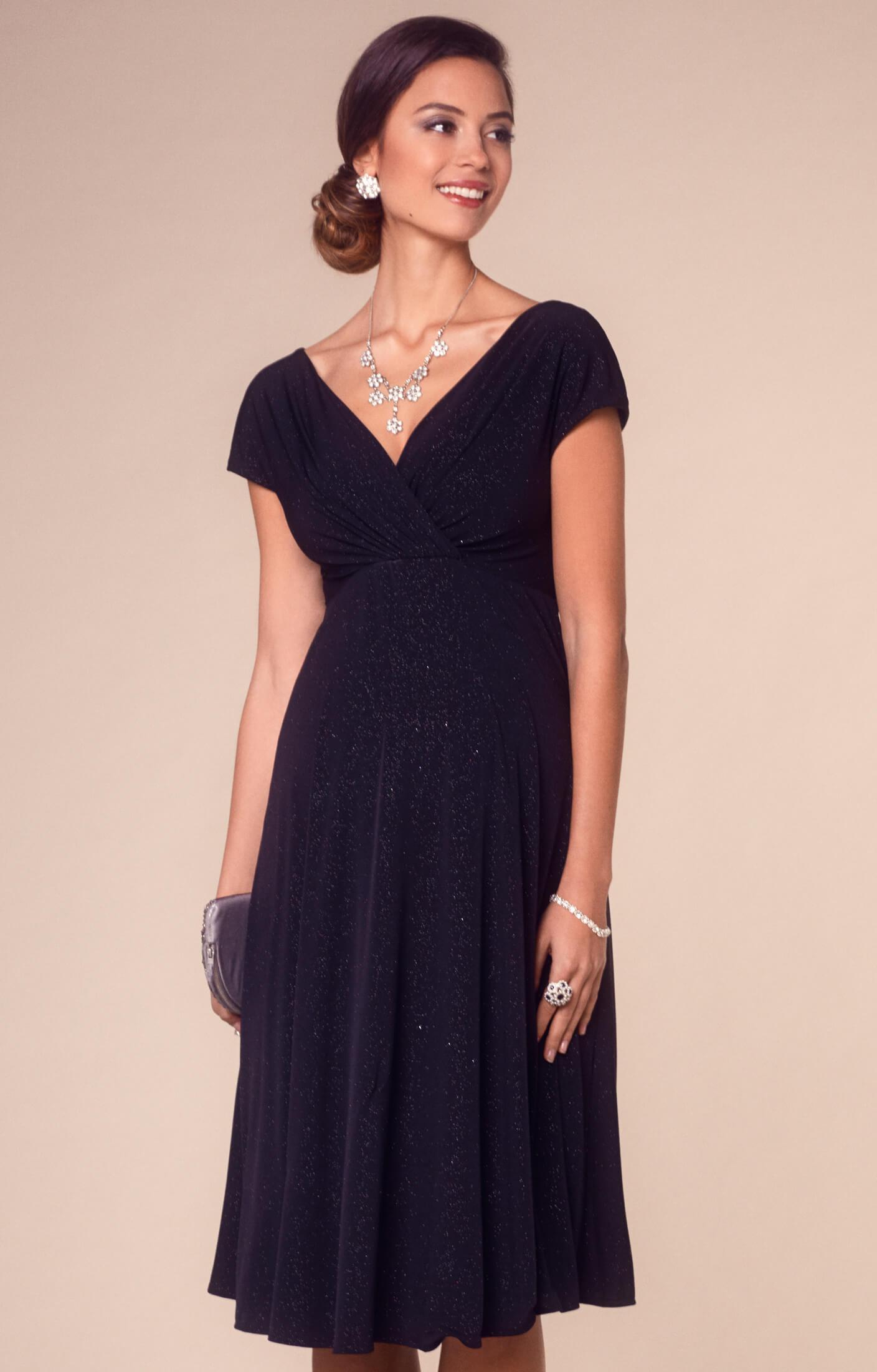 49cb415a8e0 Alessandra Maternity Dress Short Night Sky - Maternity Wedding Dresses