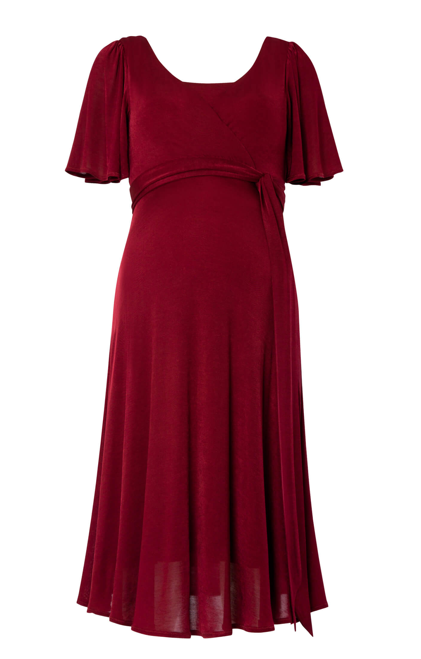 Alicia Nursing Dress Berry - Maternity Wedding Dresses ...