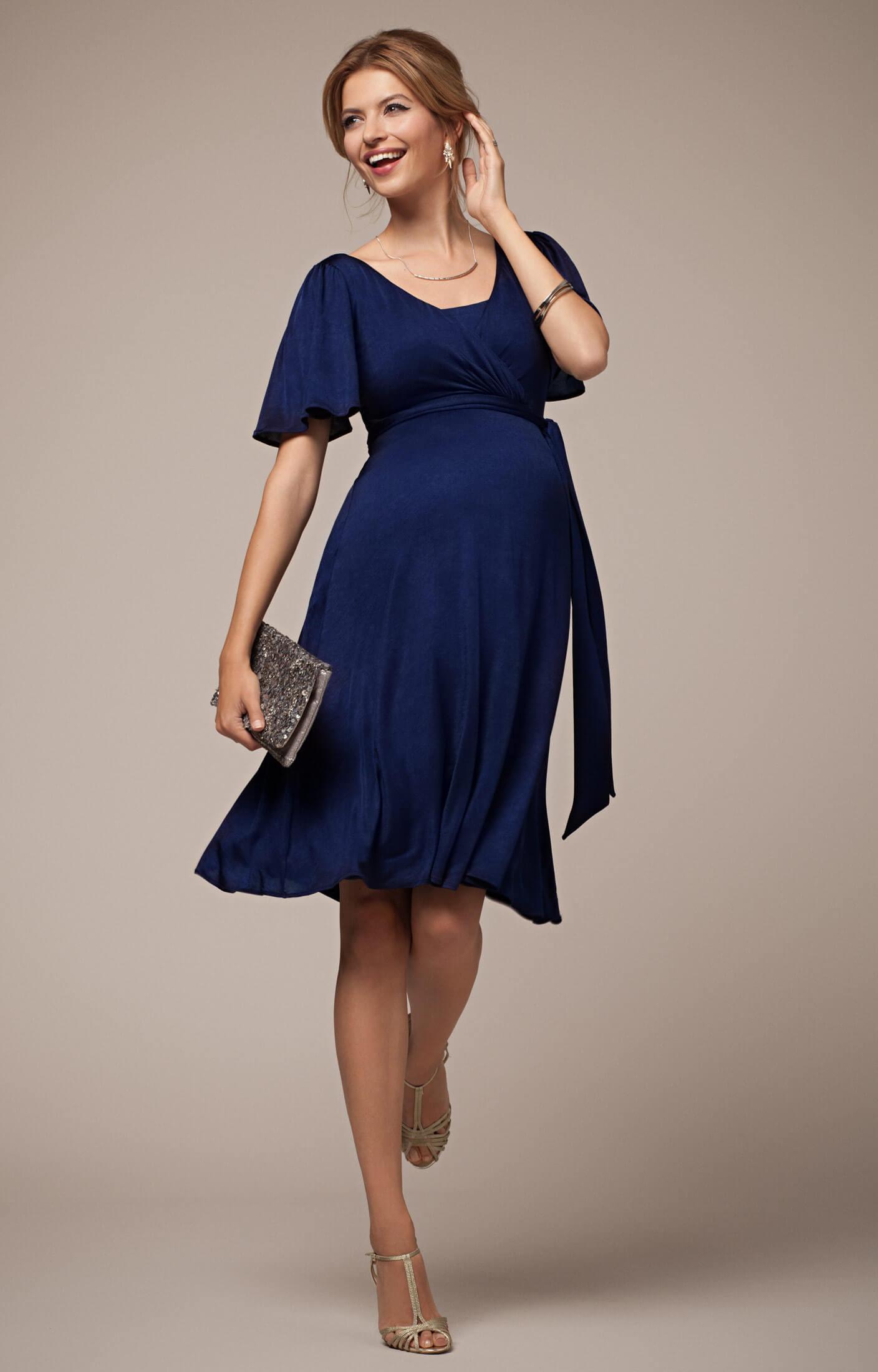 Alicia Nursing Dress Eclipse Blue - Maternity Wedding Dresses ...
