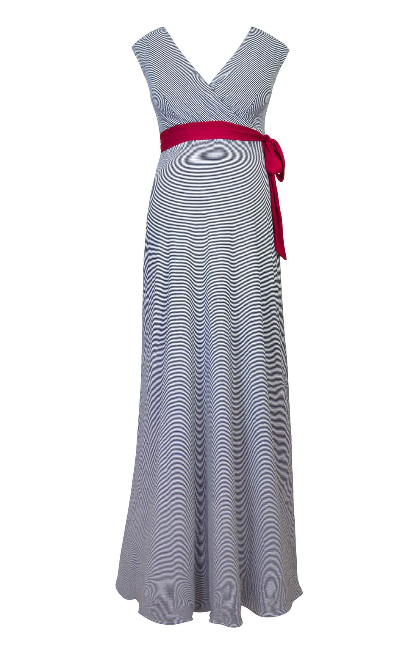 a0239018d77 Alana Maternity Maxi Dress Cruise Stripe - Maternity Wedding Dresses ...