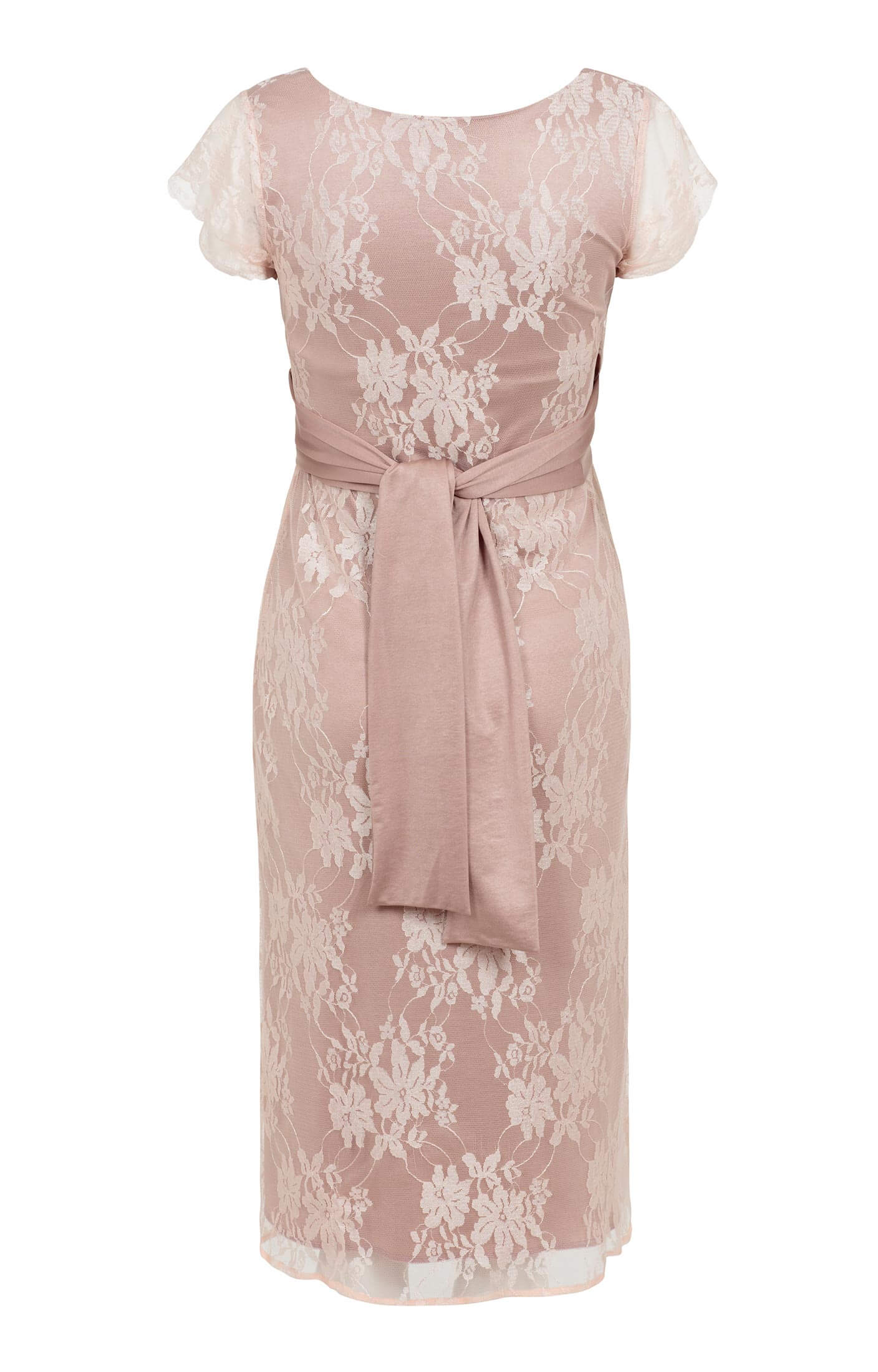 ea3191d9409 April Nursing Lace Dress Blush - Maternity Wedding Dresses, Evening Wear  and Party Clothes by Tiffany Rose US