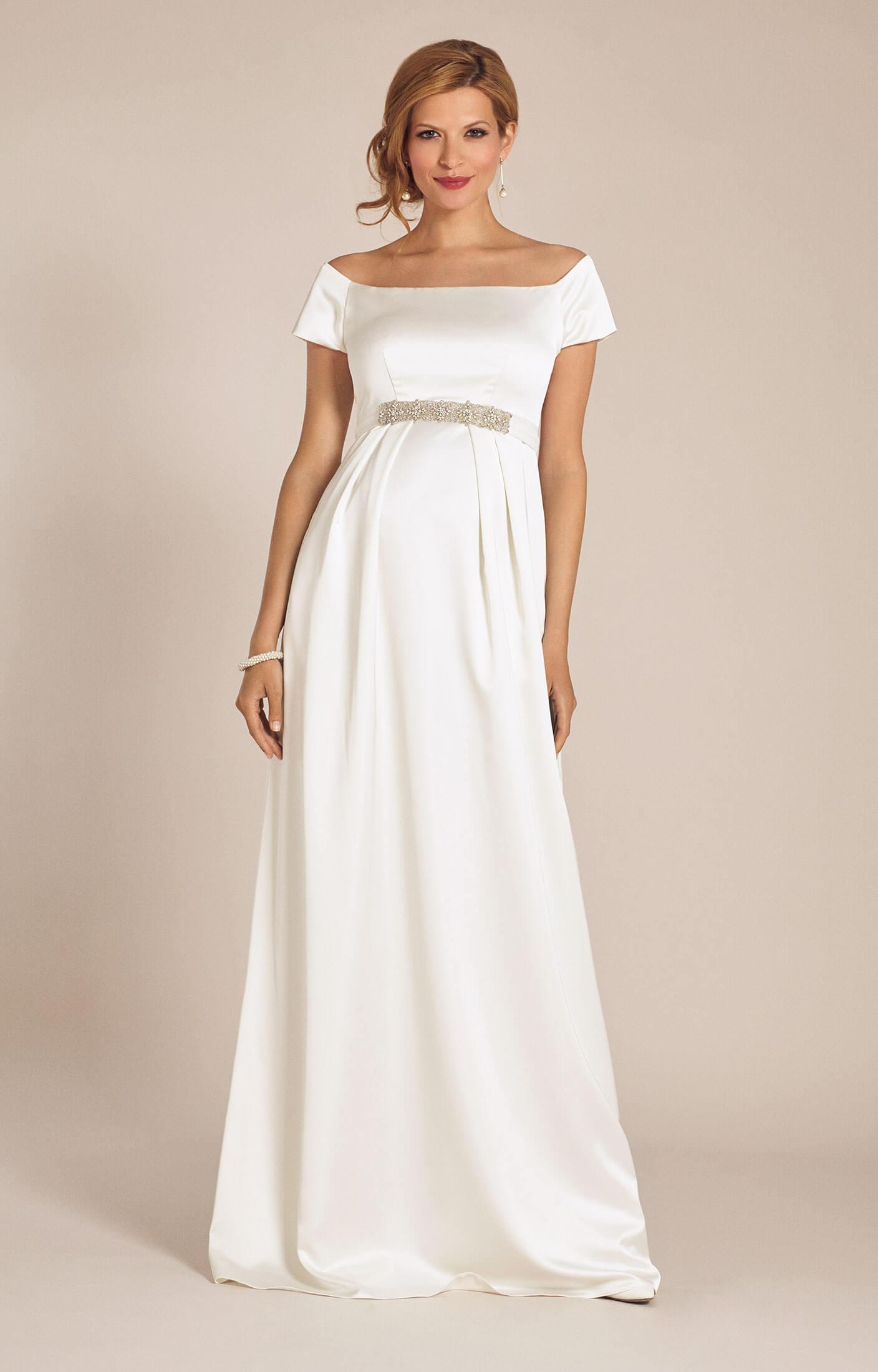 Maternity wedding dresses maternity wedding gowns and maternity aria maternity wedding gown ivory ombrellifo Choice Image