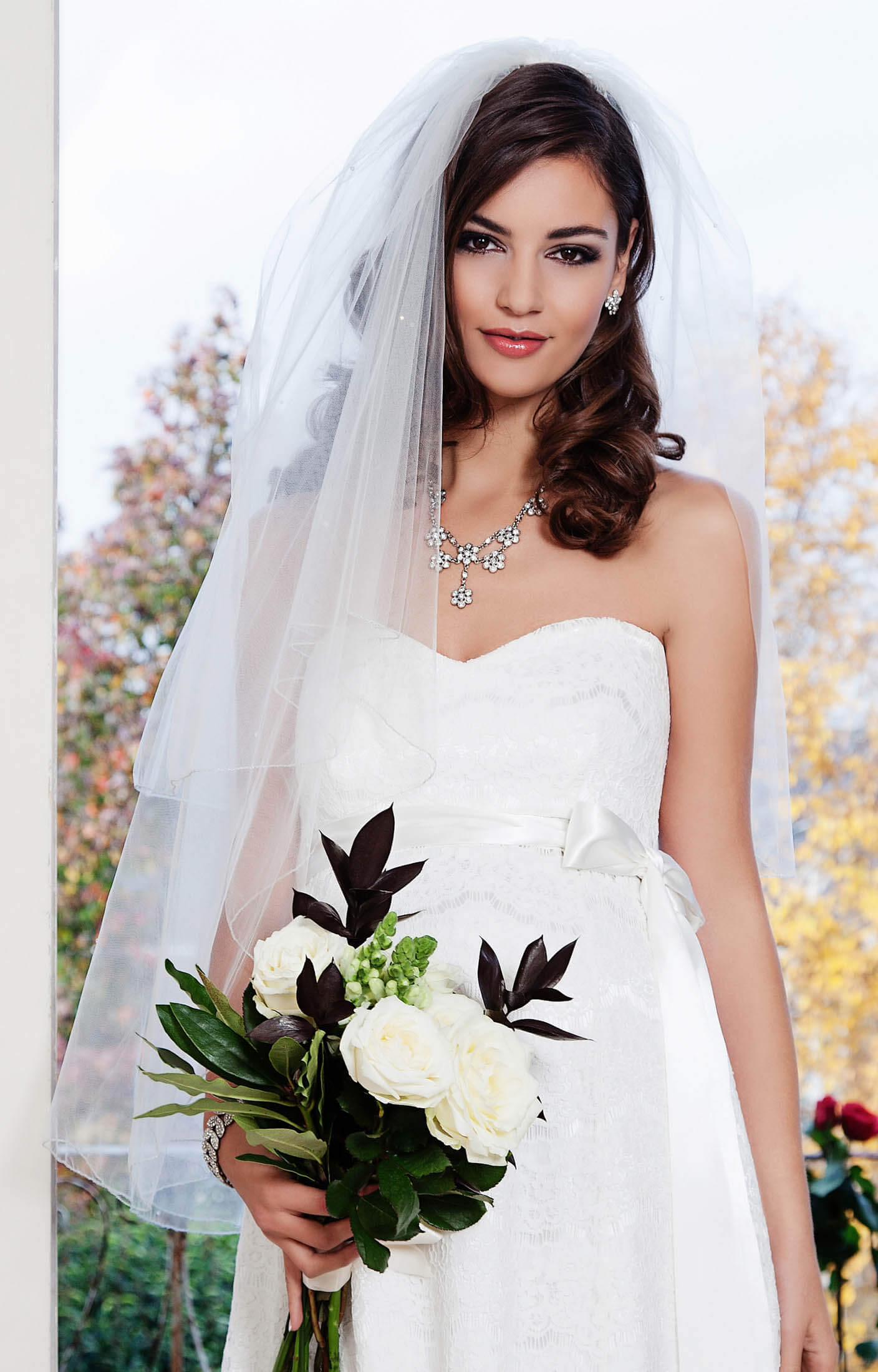 Charlotte Bridal Veil - Maternity Wedding Dresses, Evening Wear and ...