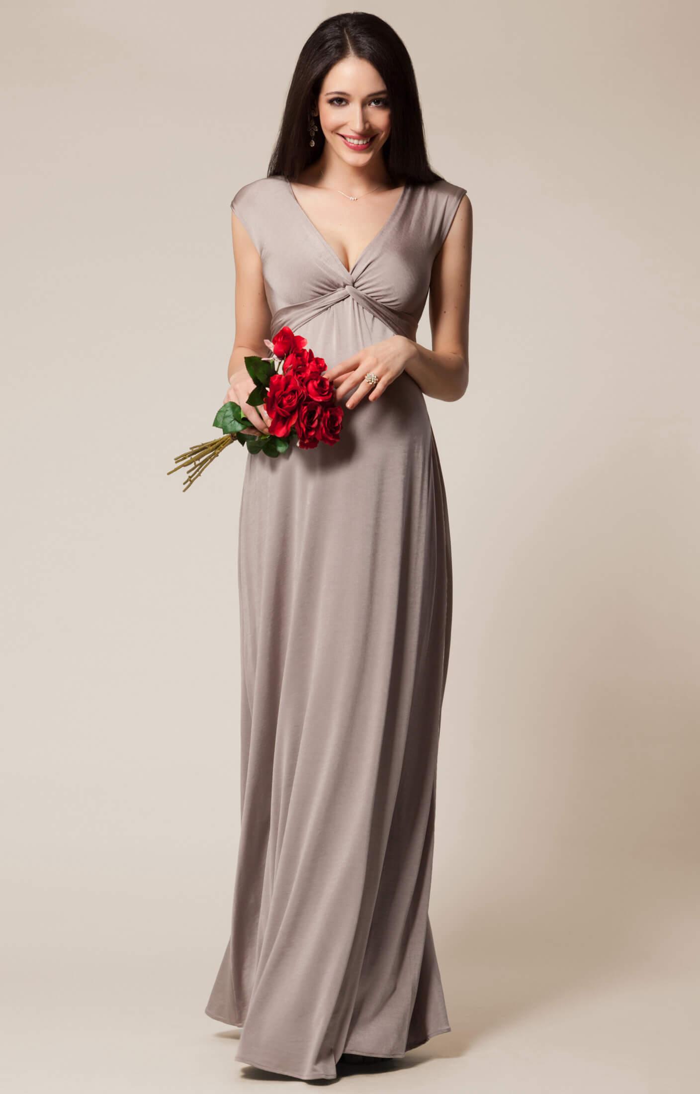 Clara maternity gown long mocha maternity wedding dresses clara maternity gown long mocha by tiffany rose ombrellifo Images