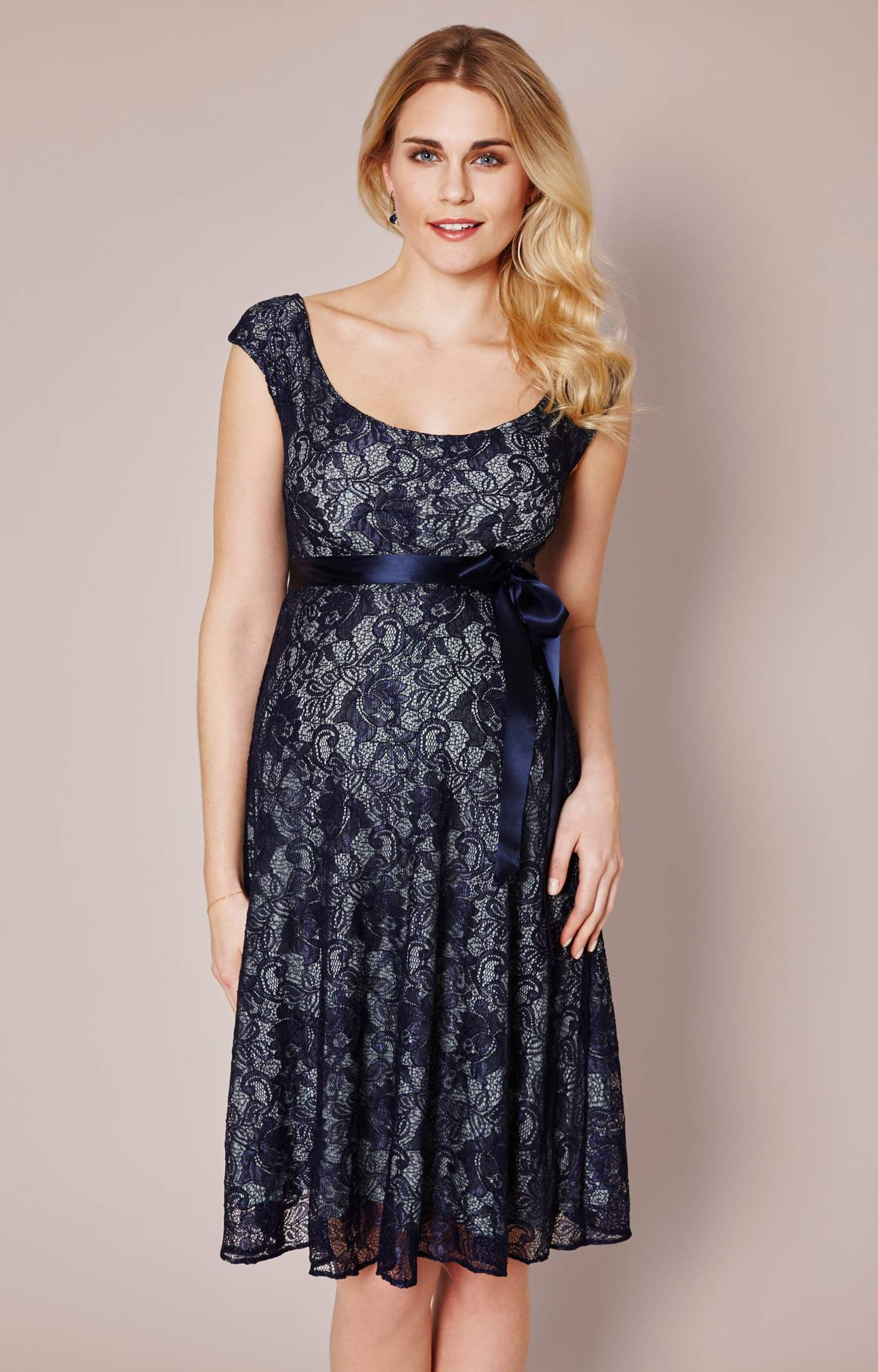 45dc1c3160439b Eliza Maternity Dress Short (Aqua Marine) - Maternity Wedding Dresses