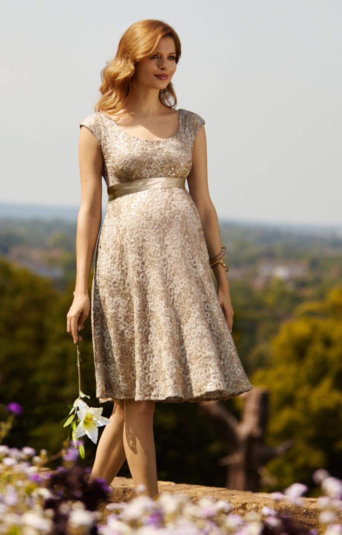 Eliza maternity dress short gold rush maternity wedding dresses eliza maternity dress short gold rush by tiffany rose ombrellifo Image collections