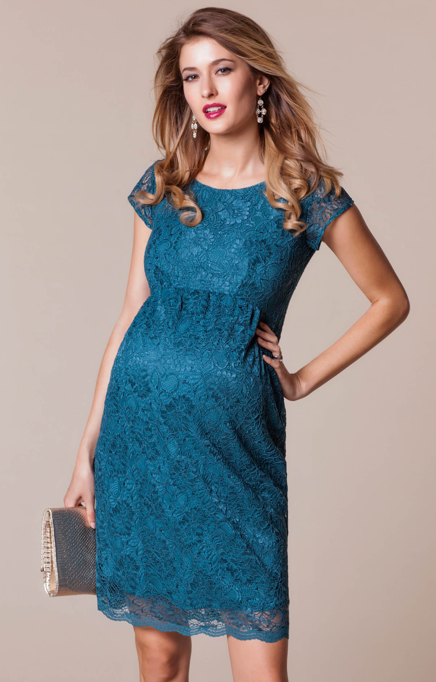 Emma Maternity Shift Dress Dragonfly - Maternity Wedding Dresses ...
