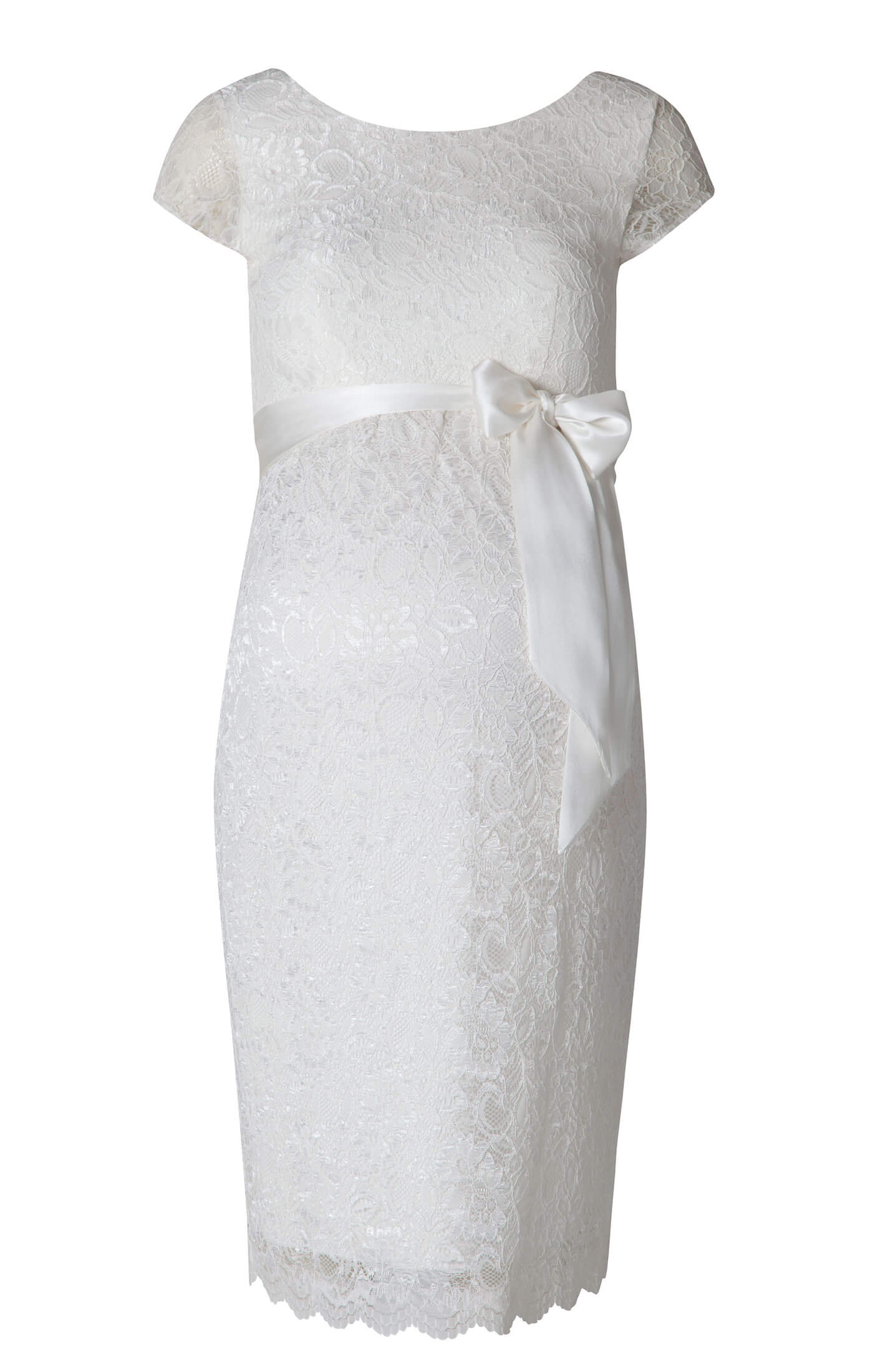 5f8b809b4d Emma Maternity Shift Dress Ivory - Maternity Wedding Dresses ...