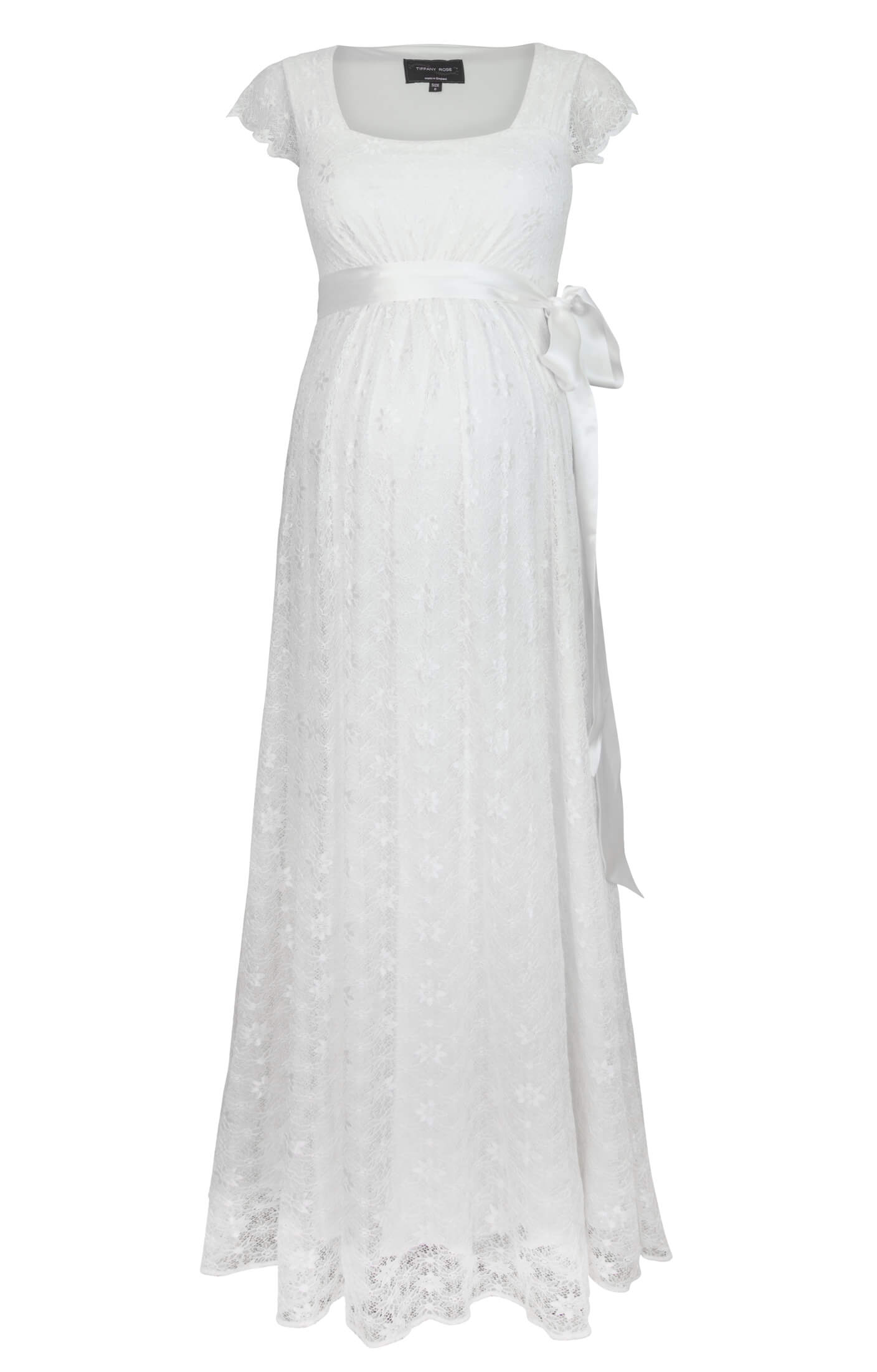 bb208743516 Florence Maternity Wedding Gown Long Ivory - Maternity Wedding Dresses