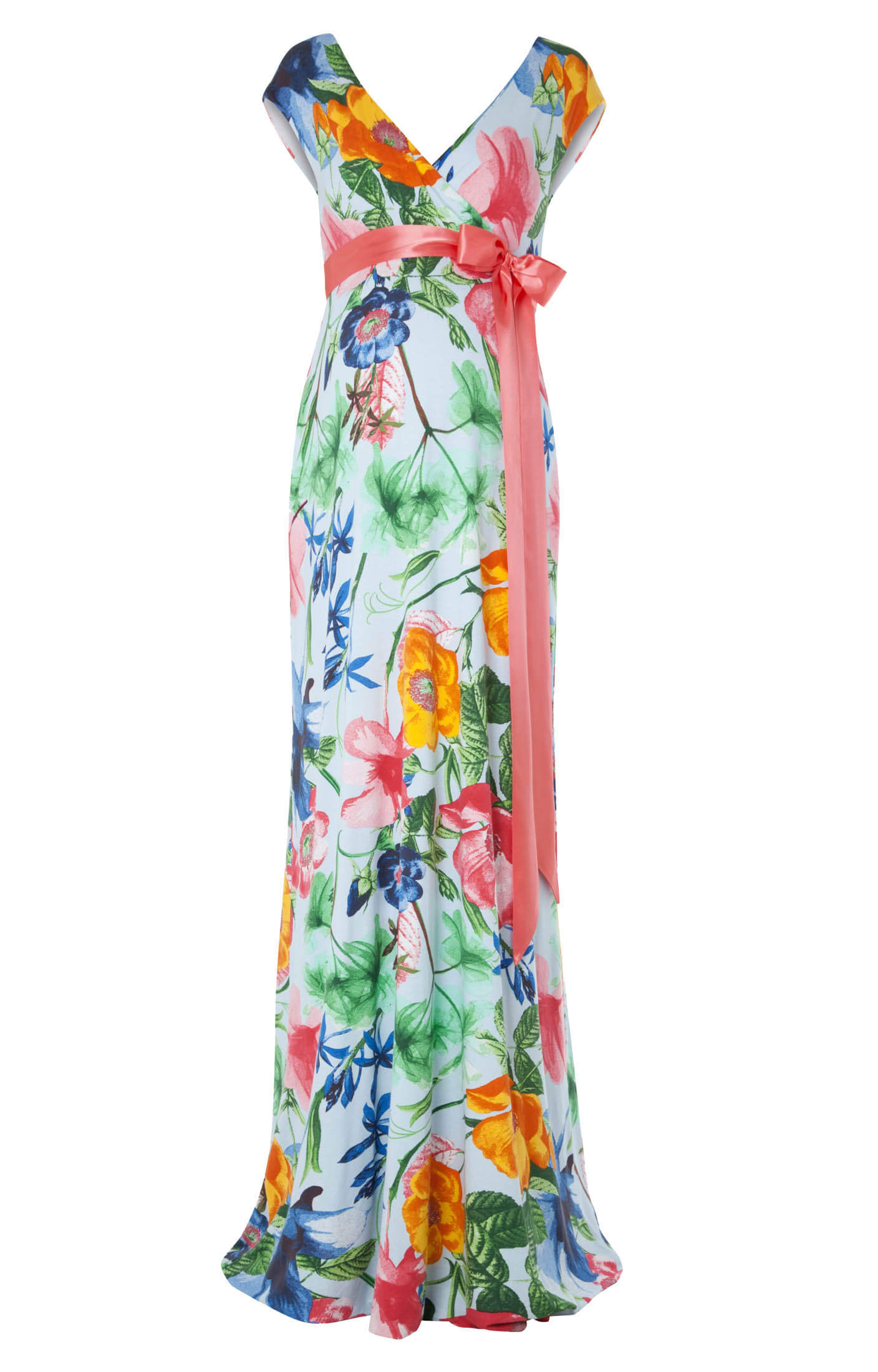 Alana Maxi Maternity Dress Hawaiian Breeze Maternity