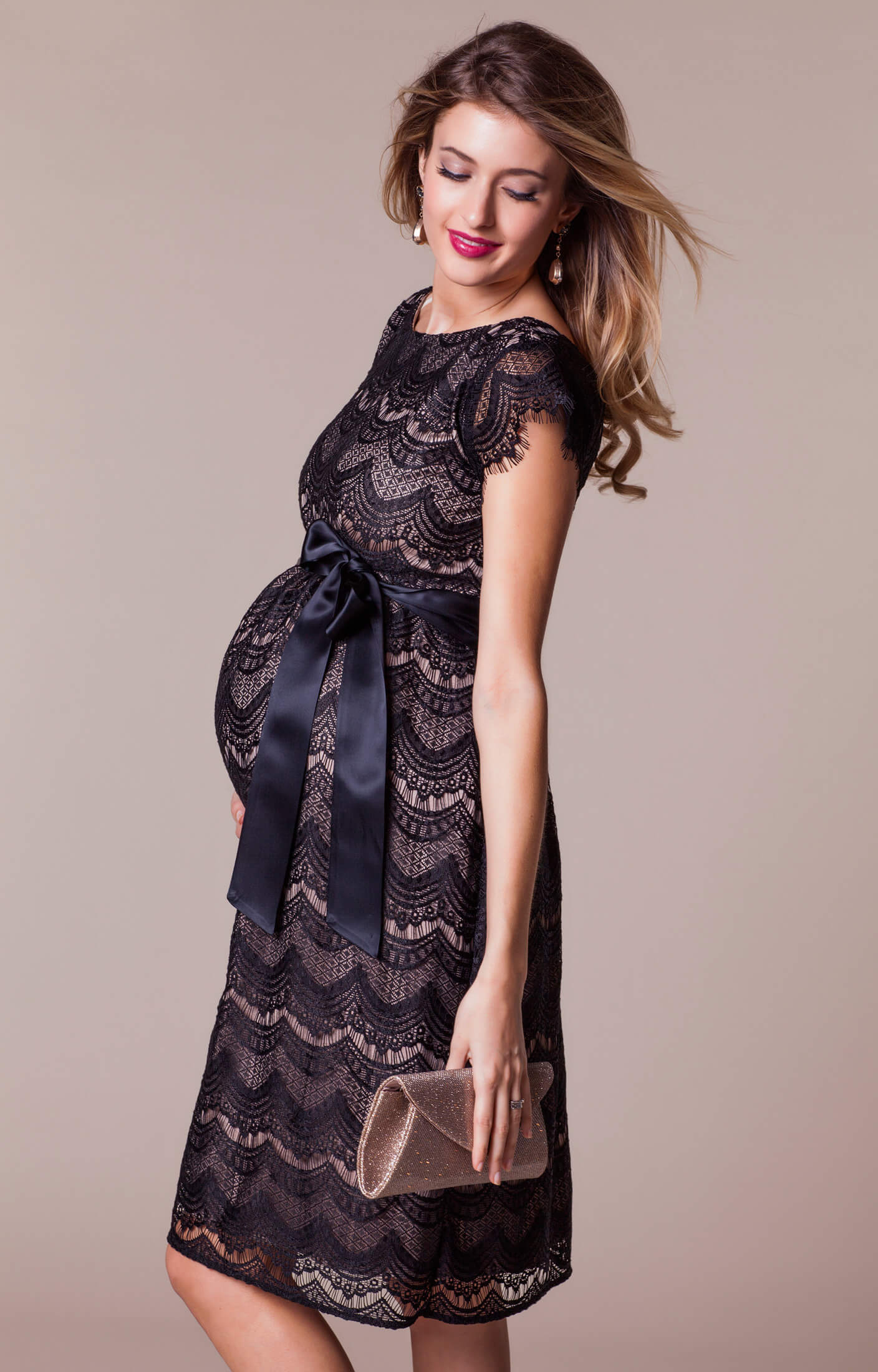 Red carpet maternity dresses and maternity evening wear by tiffany harriet maternity dress short blackdusk ombrellifo Gallery