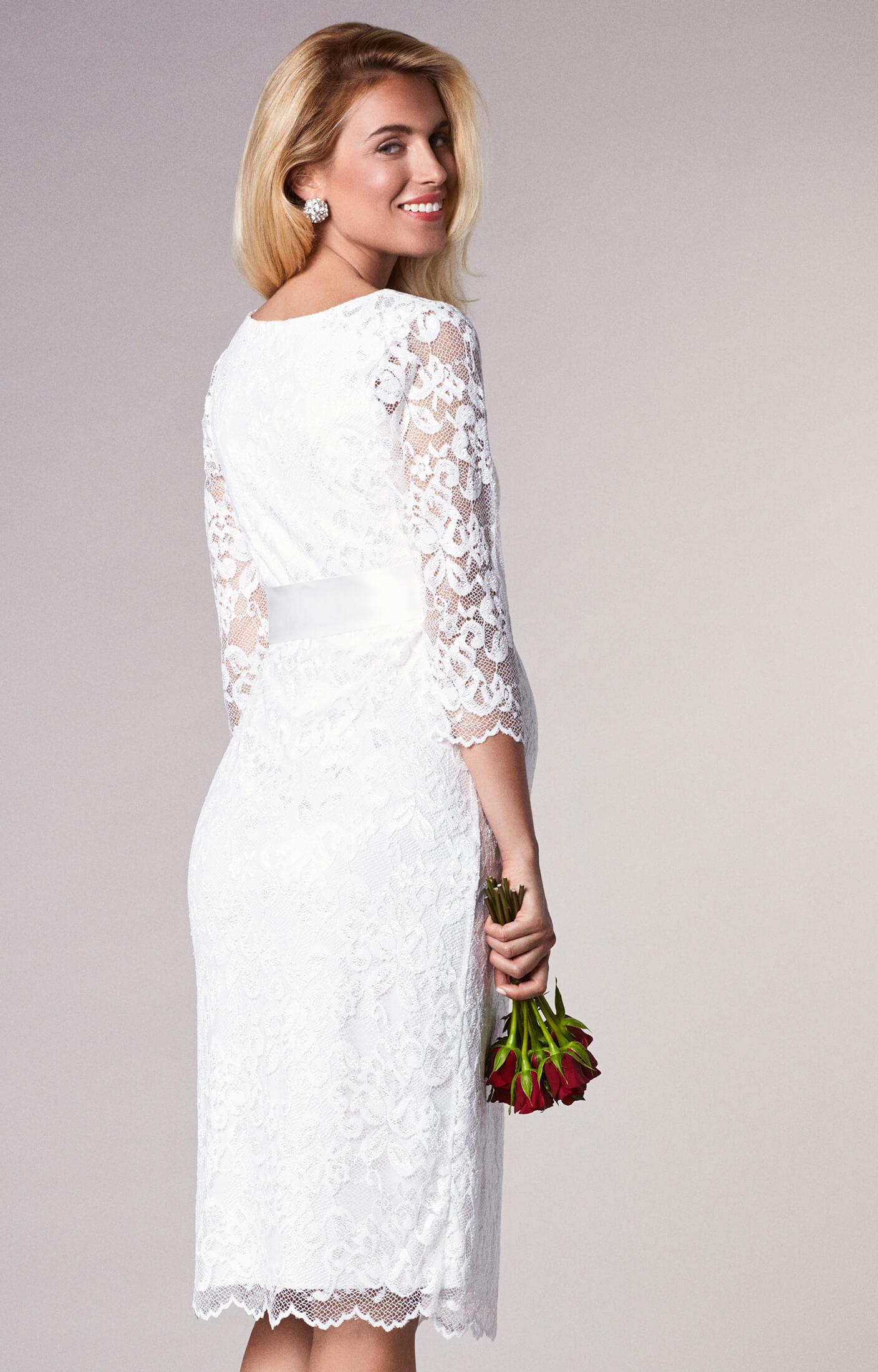 Katie Maternity Wedding Dress Short Ivory - Brudklänningar ... bfc8734942da8