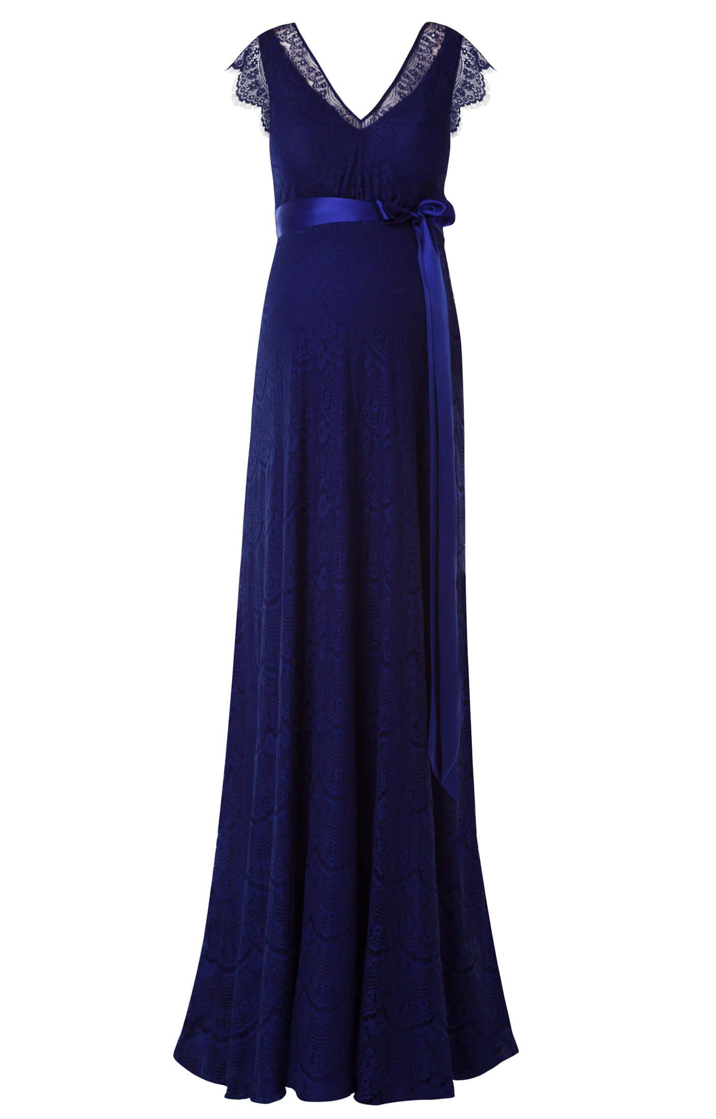 Abendkleid Kristin Lang in Indigo Blue