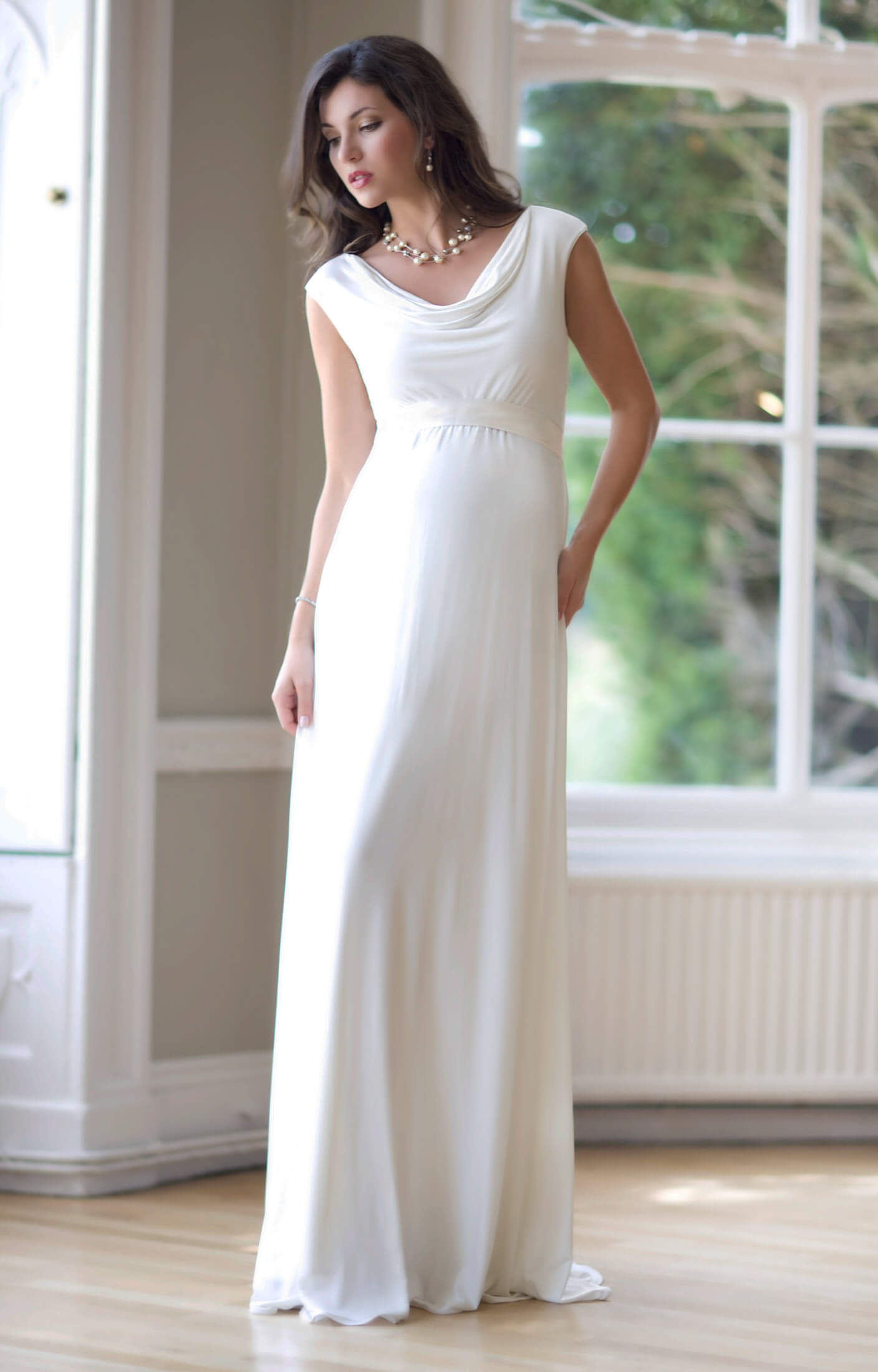 Maternity wedding dresses maternity wedding gowns and maternity liberty maternity wedding gown ivory ombrellifo Image collections