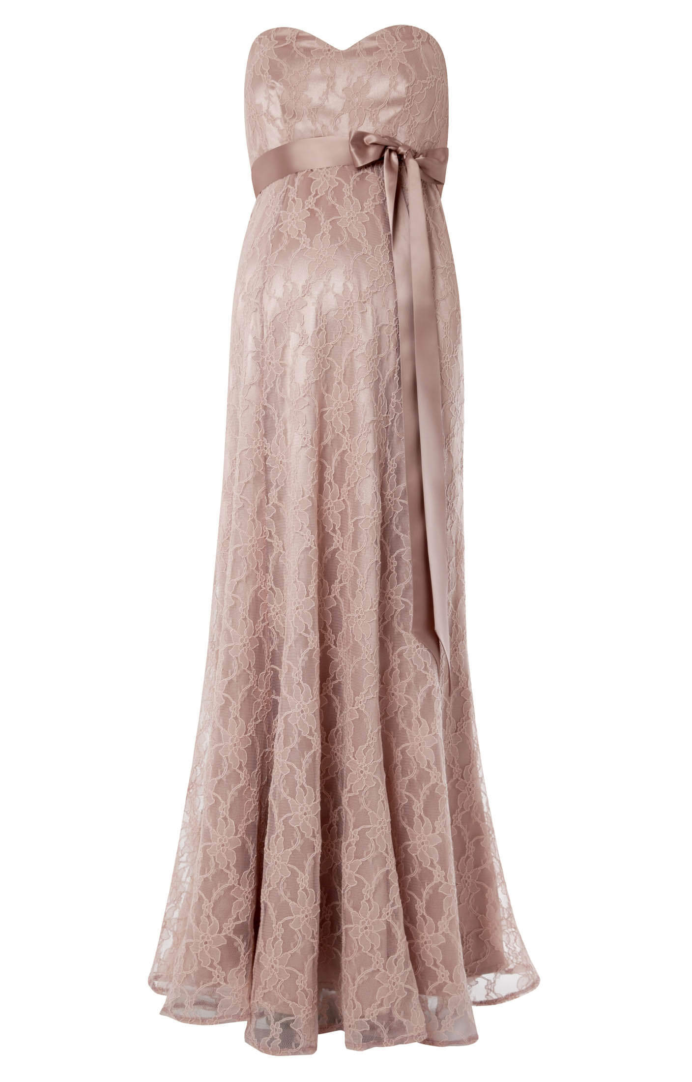 Olivia Maternity Gown (Antique Rose) - Maternity Wedding ...