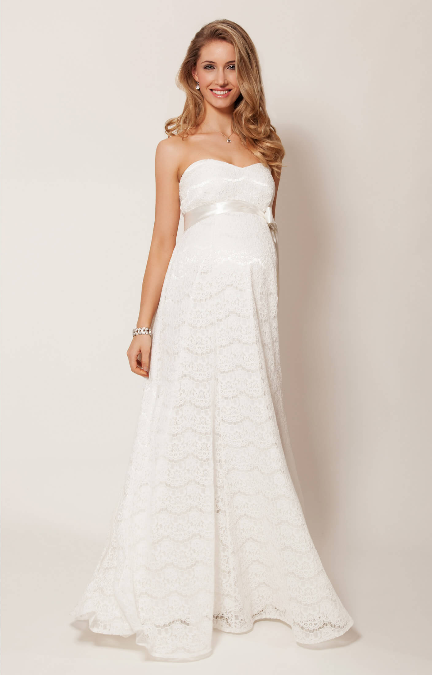 fa9b8a68225a7 Olivia Maternity Wedding Gown (Ivory) - Maternity Wedding Dresses, Evening  Wear and Party Clothes by Tiffany Rose UK