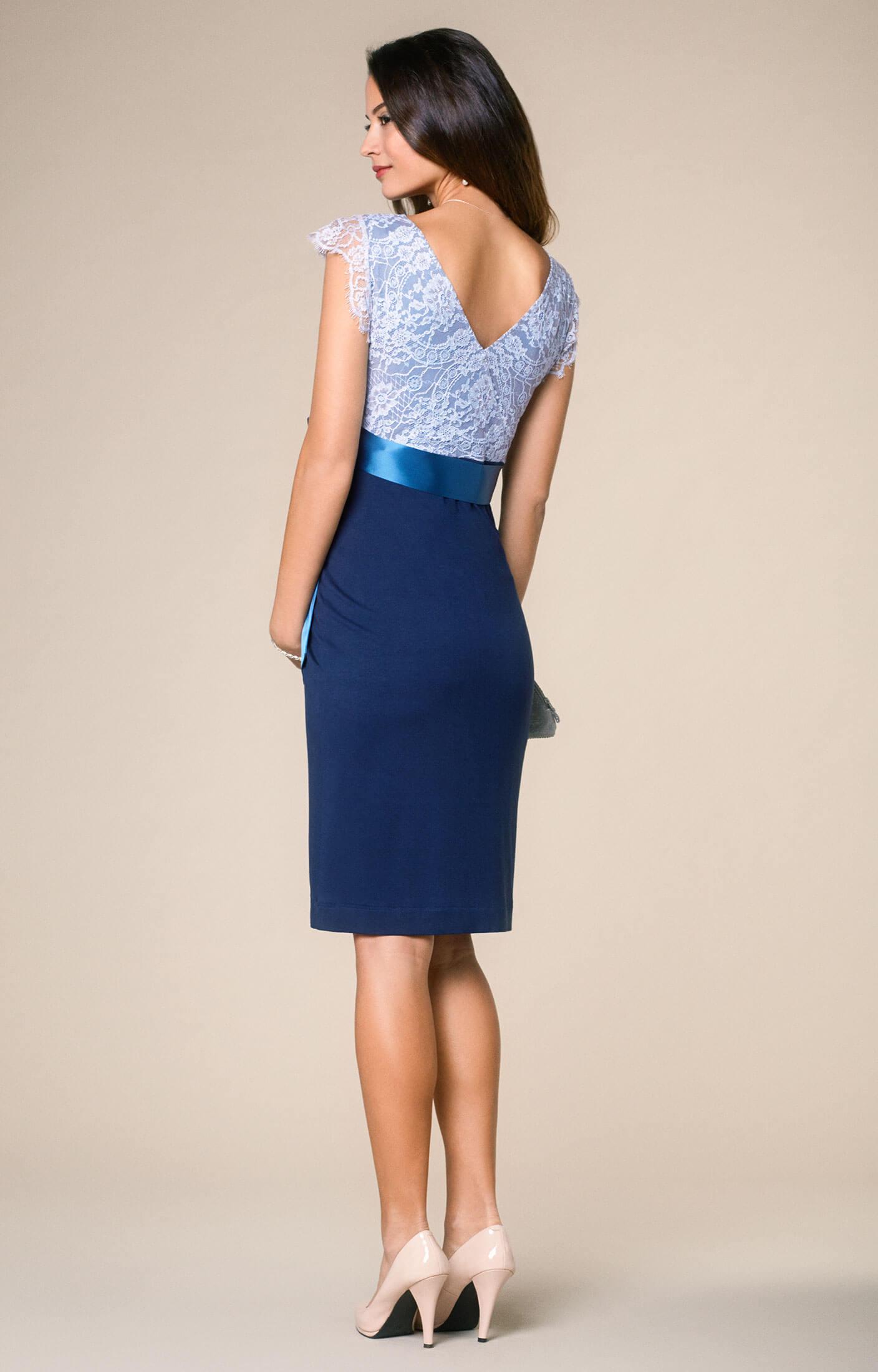 Umstandskleid Rosa Infinity Blau - Umstandshochzeitskleider ...