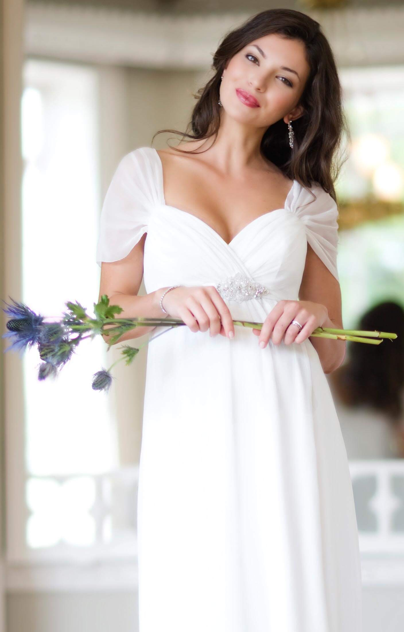 Silk sophia maternity wedding gown ivory maternity wedding silk sophia maternity wedding gown ivory maternity wedding dresses evening wear and party clothes by tiffany rose ombrellifo Image collections