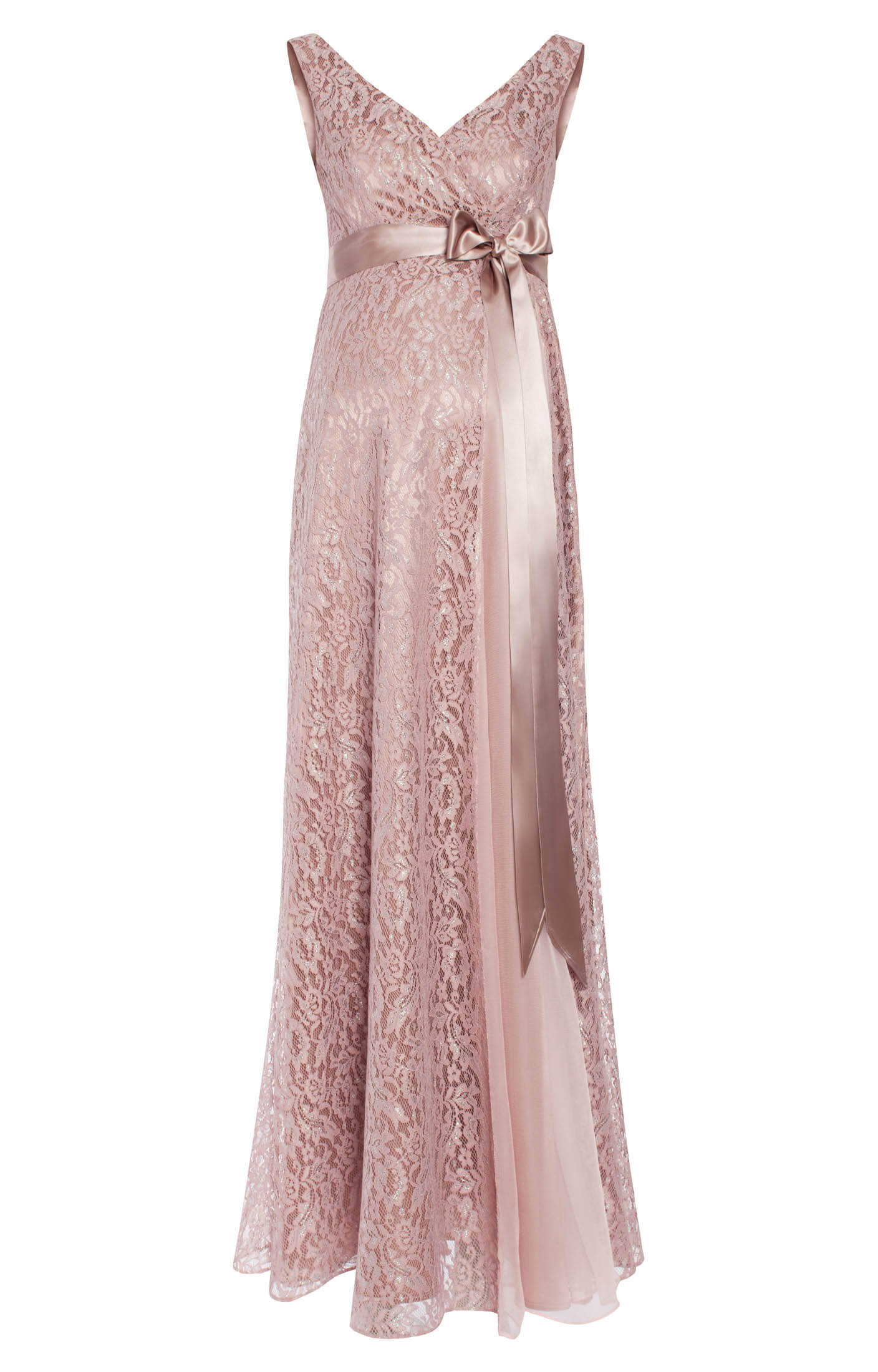 Thea Maternity Gown Long Blush Maternity Wedding Dresses
