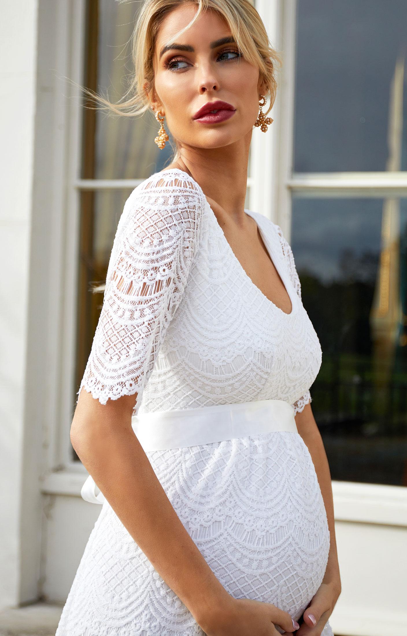 Verona Maternity Wedding Gown (Ivory) - Maternity Wedding Dresses ... f3f21cb9272