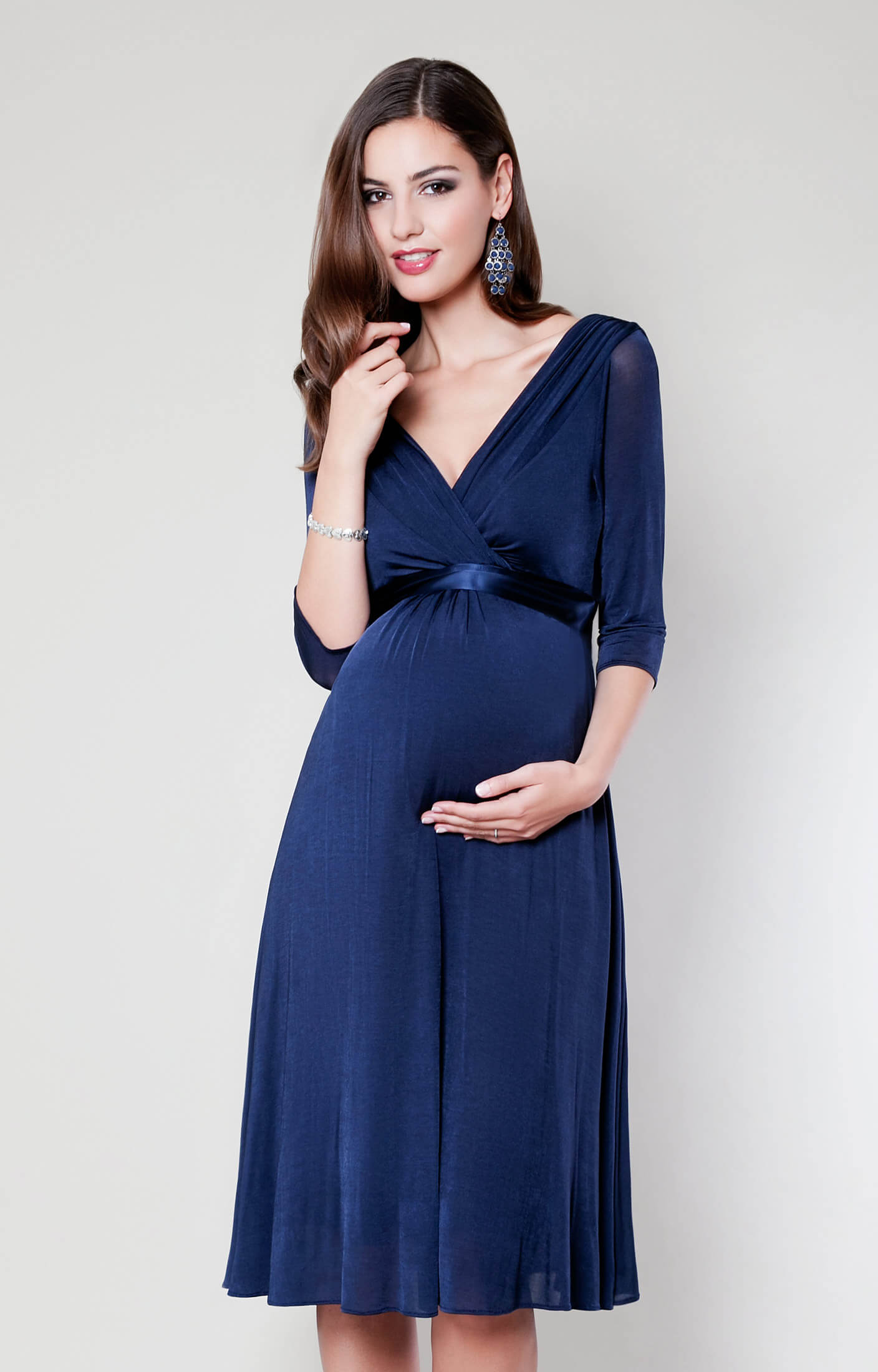 03350c46581 Willow Maternity Dress (Midnight Blue) - Maternity Wedding Dresses ...