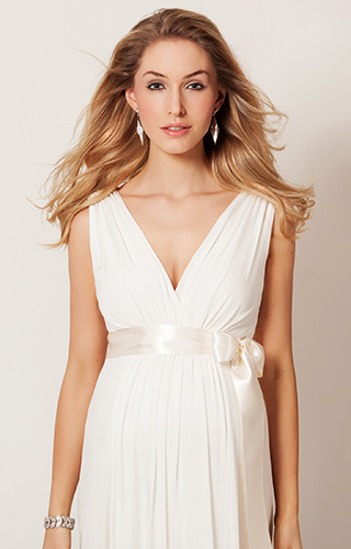 Anastasia Maternity Wedding Gown (Ivory) by Tiffany Rose