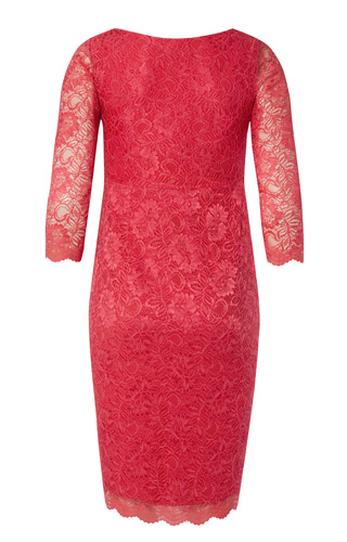 Chloe Lace Maternity Dress Coralista by Tiffany Rose