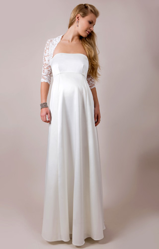 Ella Maternity Wedding Gown (Long) by Tiffany Rose