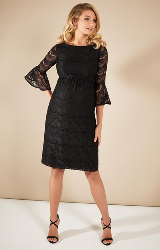 Jane Lace Dress Black by Tiffany Rose