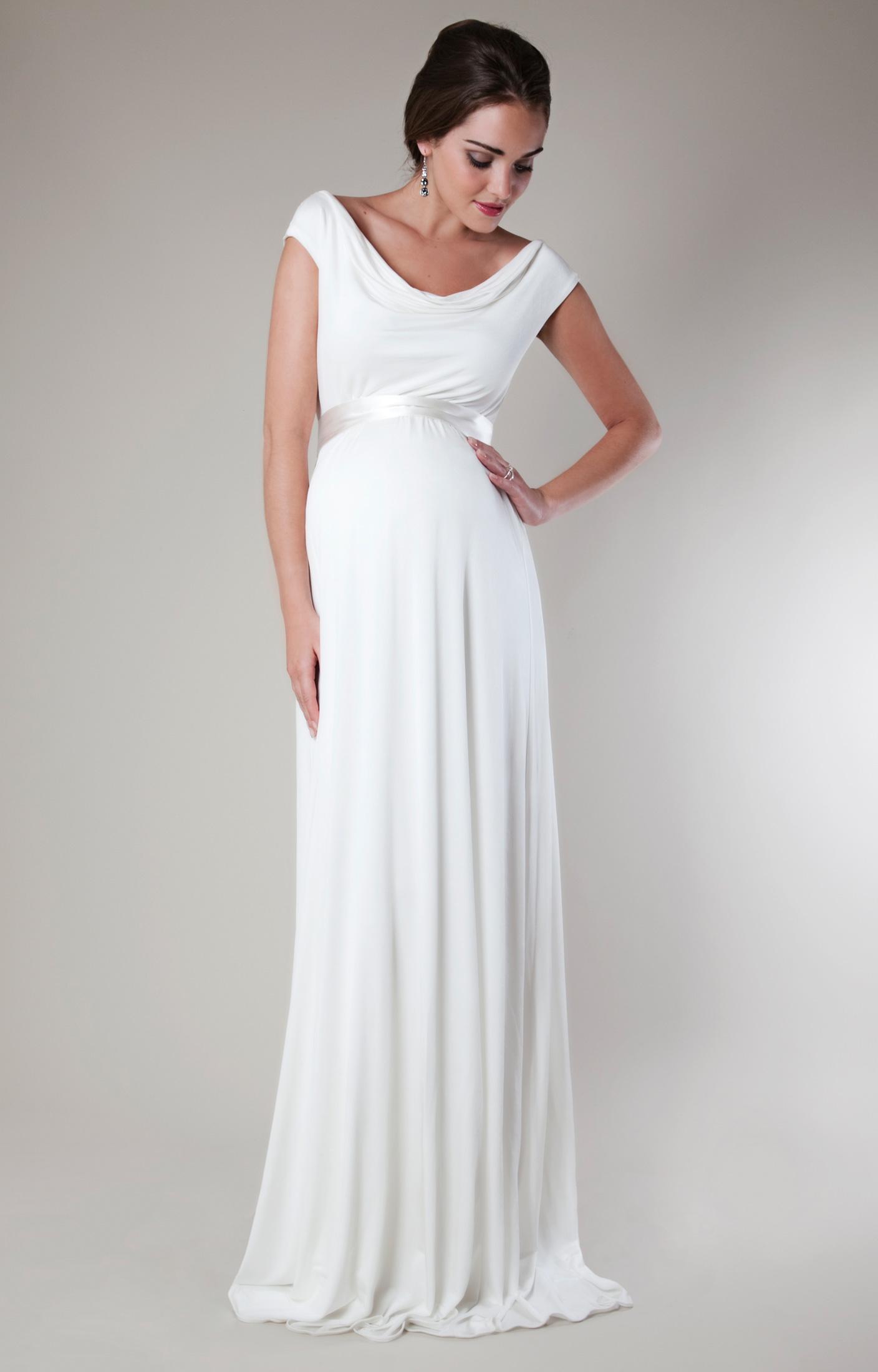 Liberty Hochzeitskleid (Elfenbein) - Umstandshochzeitskleider ...