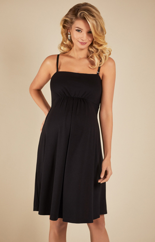 Molly Nursing Dress Black by Tiffany Rose