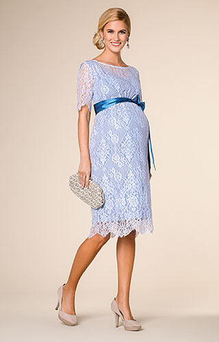 Starla Maternity Dress Short Infinity Blue by Tiffany Rose