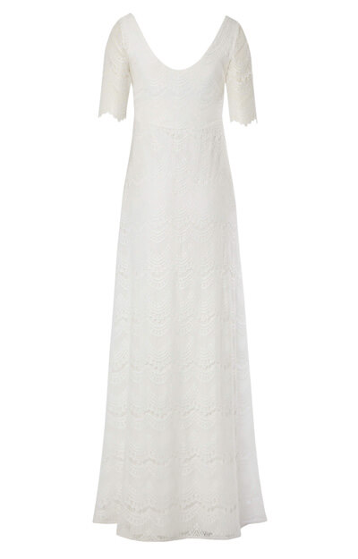 Verona Maternity Wedding Gown Ivory White by Tiffany Rose